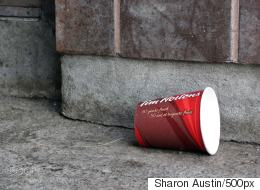 Newfoundland City Resorts To Paying People To Pick Up Coffee Cup Trash