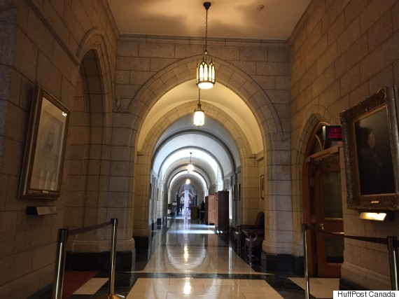 senate hallway