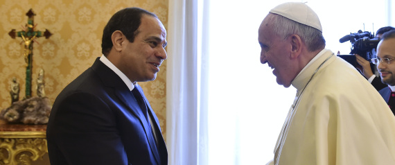 POPE OF THE VATICAN IN EGYPT