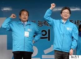 김무성이 이번 선거를 포기한 이야기를 던졌다