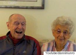 노부부가 행복한 결혼 생활의 비결을 밝혔다