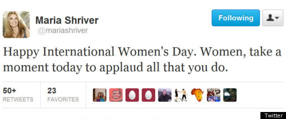 Womens Day Tweets