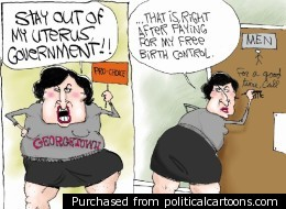 Sandra Fluke Cartoon Creates Controversy Of Its Own …Rush Limbaugh might feel like he doesn't have a friend in the world.