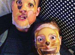 Les masques faciaux en emoji font fureur (et tellement peur)