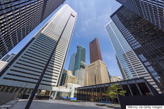 bank buildings toronto