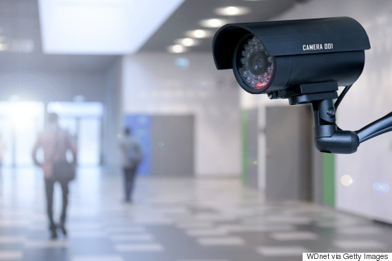 security camera and school