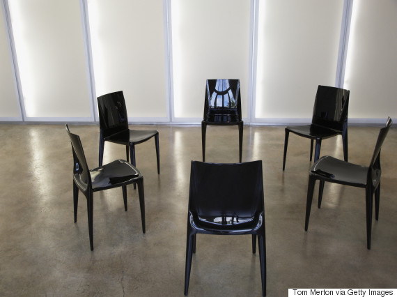 empty chairs circle