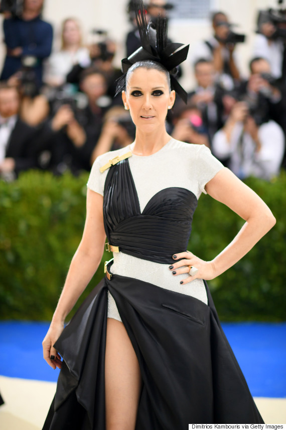 Image result for celine dion at the Met 2017
