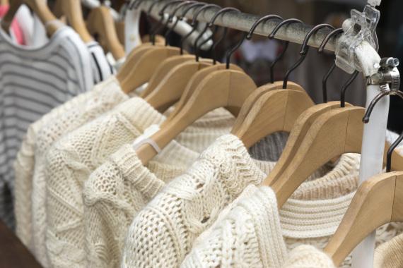 hanging knits