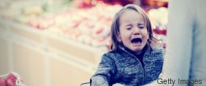 SUPERMARKET CHILD ANGRY