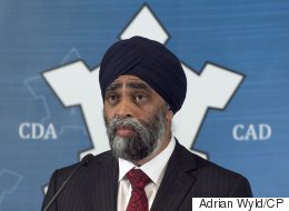 Sajjan Highlights Defence Spending Hole