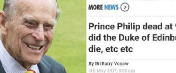 PRINCE PHILIP THE SUN