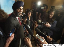 Sajjan Explains Why He Bowed Out Of Veterans Fundraiser