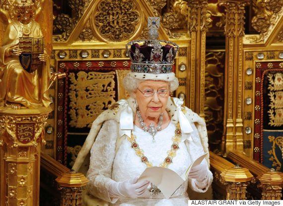 queen elizabeth parliament