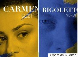 Bizet et Verdi à l'Opéra de Québec saison 2017-2018