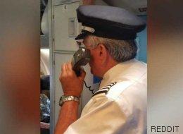 Voilà un pilote d'avion qui traite bien ses passagers