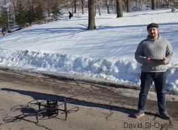 Les drones intelligents de ce chercheur pourront sauver des vies