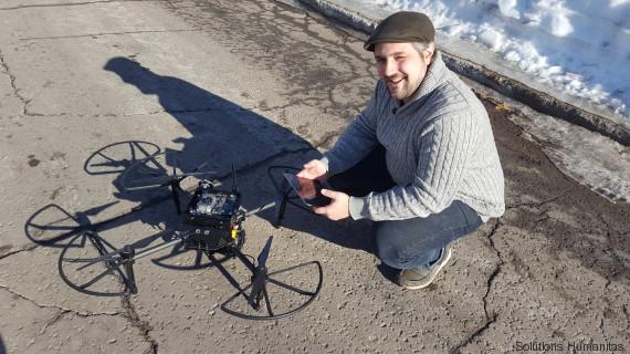 david st onge drone