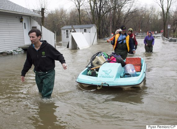 Quebec Floods: Province Enlists Army To Help Cope With Crisis