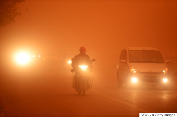 china sand storm