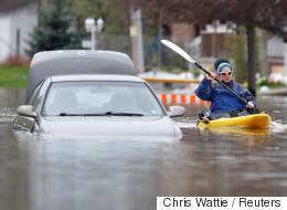 Inondations: l'armée se déploie