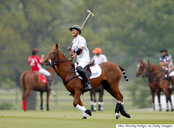 prince harry polo 2017