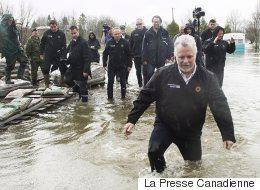 Inondations: évacuation forcée à Rigaud