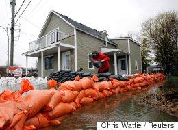 Inondations: le sommet atteint entre lundi et mercredi