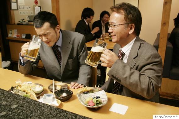 drinking japan