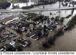 Les inondations au Québec en PHOTOS