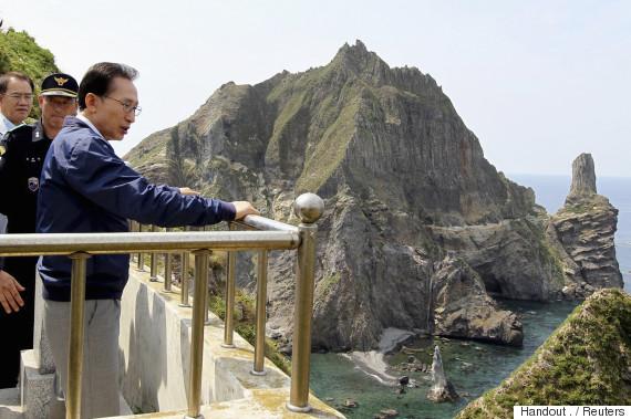 lee myung bak island