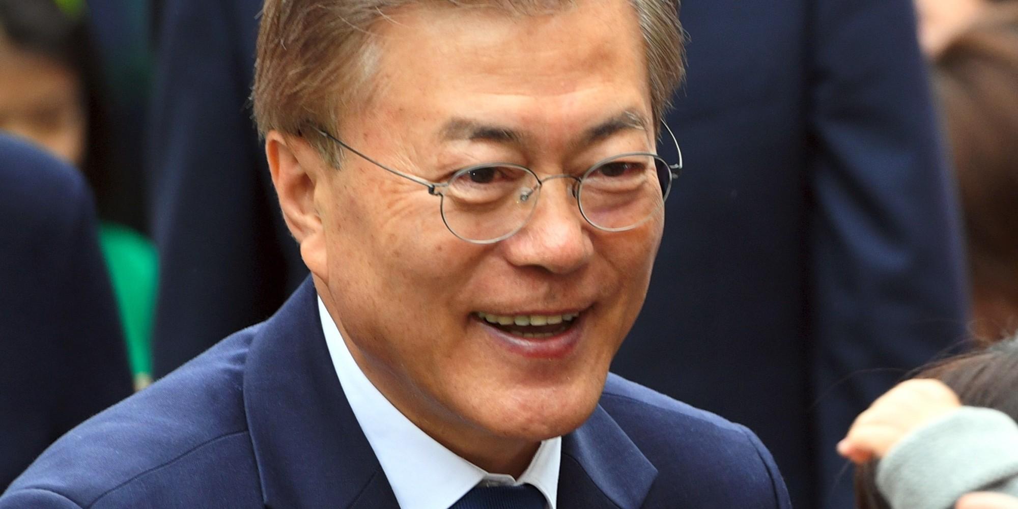 【韓国大統領選】文在寅氏が事実上の勝利宣言「今日の勝利は国民のおかげ」(テキスト中継)