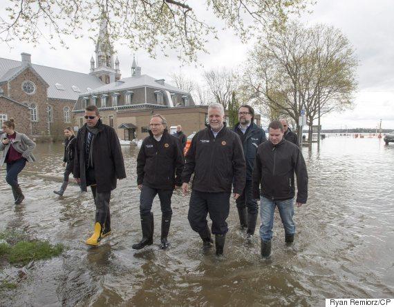 philippe couillard flood