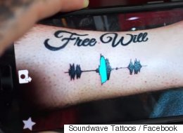 On peut maintenant entendre votre tatouage