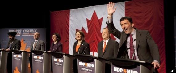 NDP LEADERSHIP DEBATE VANCOUVER