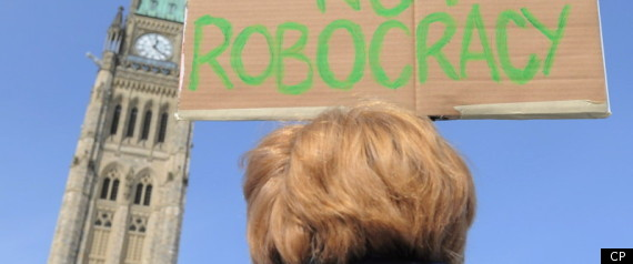 Robocall Protests Canada