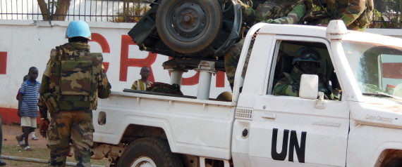 PEACEKEEPER CENTRAL AFRICAN REPUBLIC