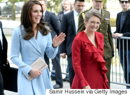 When The Duchess Of Cambridge Met The Grand Duchess Of Luxembourg