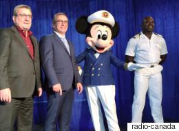 La ligne de croisières de Disney s'arrêtera à Québec en 2018