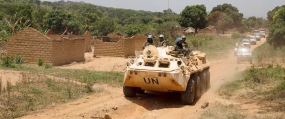 PEACEKEEPER CENTRAL AFRICAN
