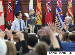 PM Trudeau Shows His Youngest The Family Business