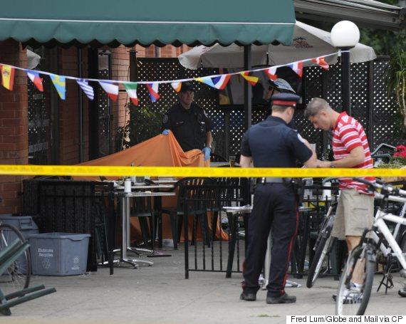 toronto cafe killing 2012