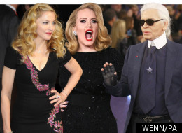Madge Defends Adele