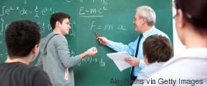 TEENS IN MATHS CLASS