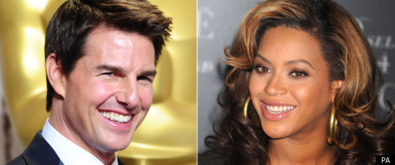 Beyonce And Tom Cruise