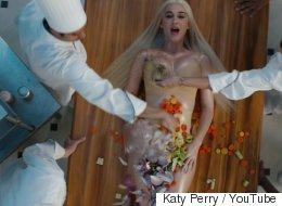 Katy Perry, dénudée, se fait cuisiner dans son nouveau clip