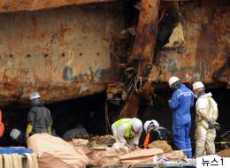 세월호 4층에서 미수습자 추정 유해가 또 발견됐다