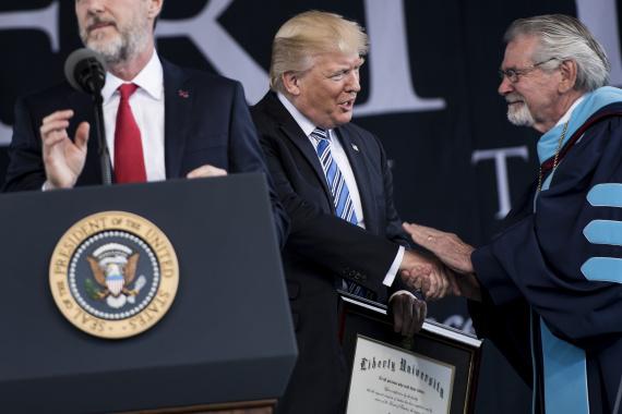 trump honorary