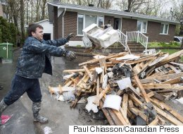 Montrealers Clean Up Homes After 'Catastrophic' Flood Damage