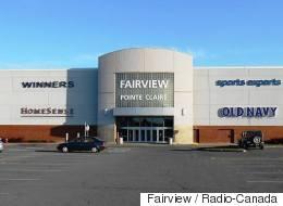 Vol qualifié commis au centre commercial Fairview